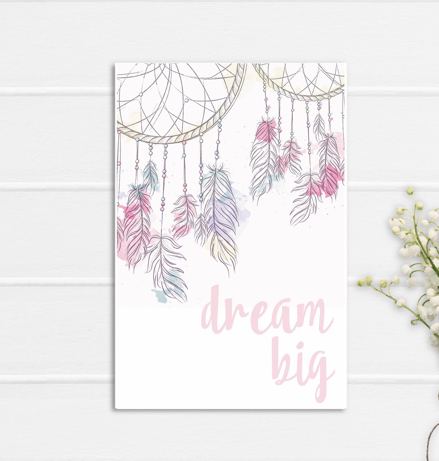 Dream Big Print Poster