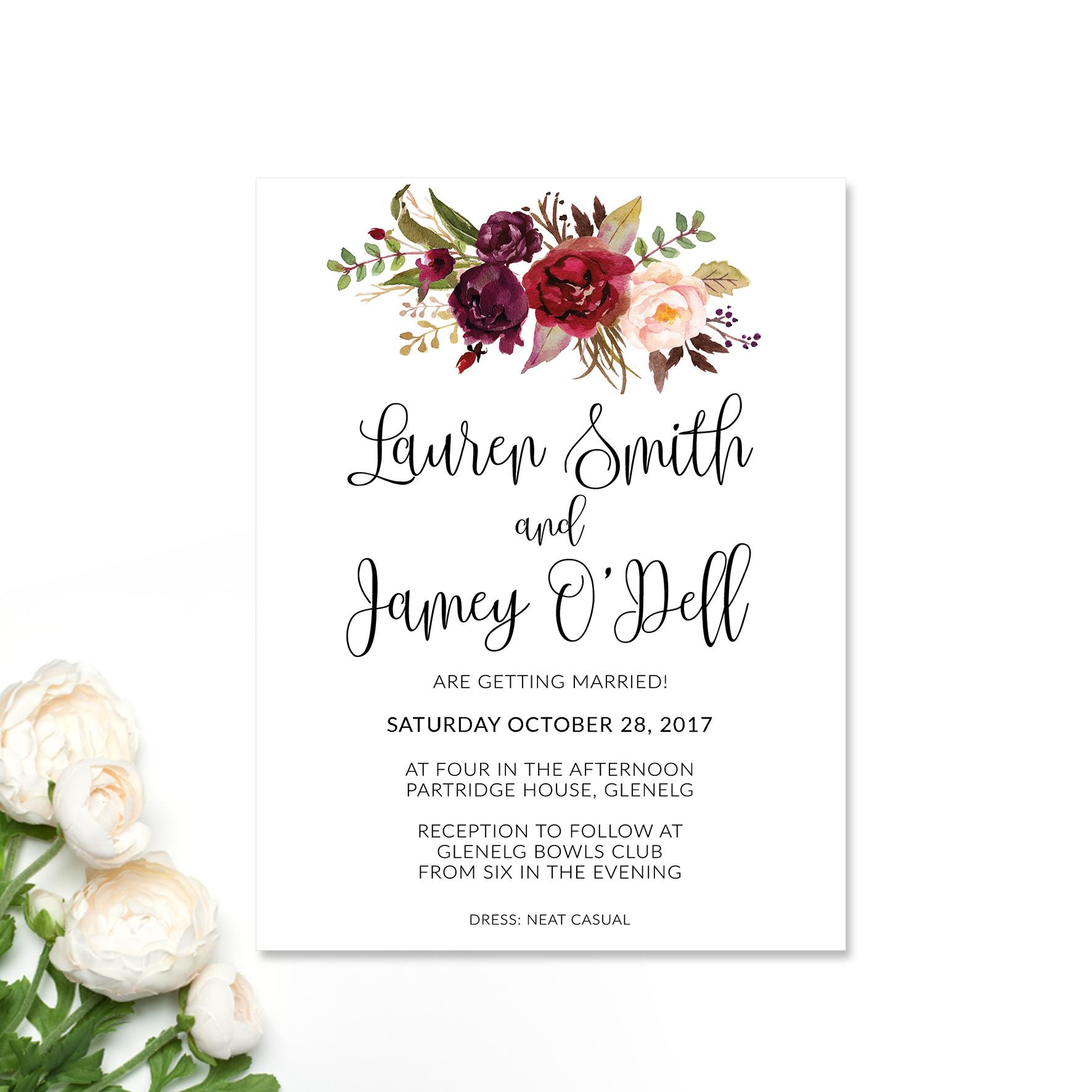 Paper Halo | Wedding & Event Invitations Australia