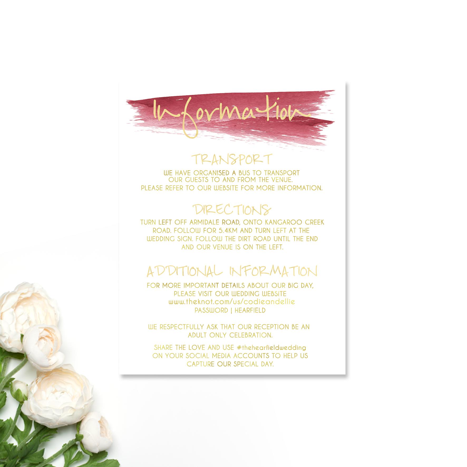 Elisha + Joshua INformation Card