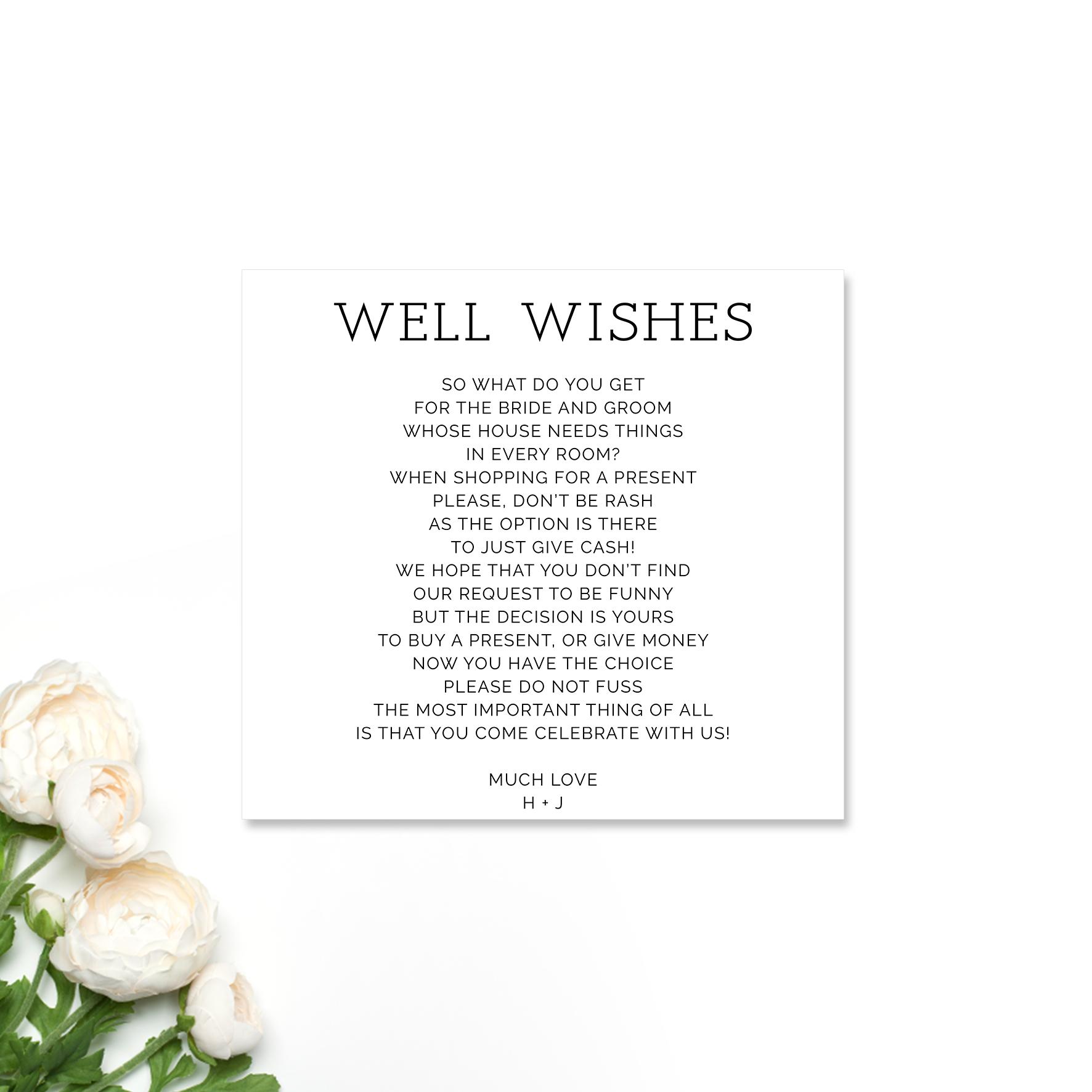 Hayley + Josh Wishing Well