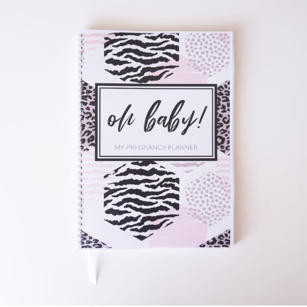 Pretty Wild Pregnancy Planner Cover