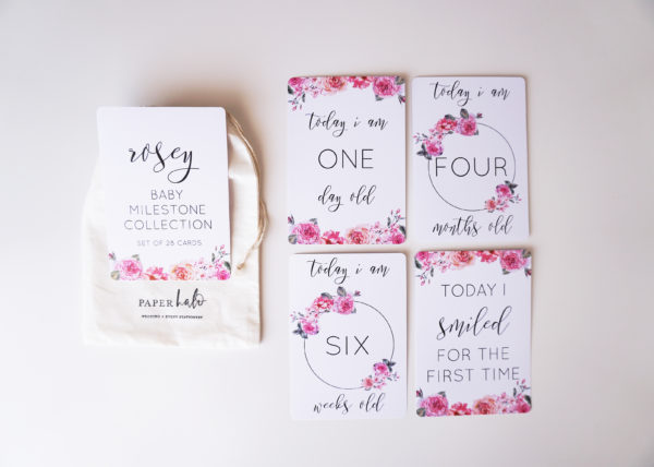 Rosey Baby Milestone Cards_1