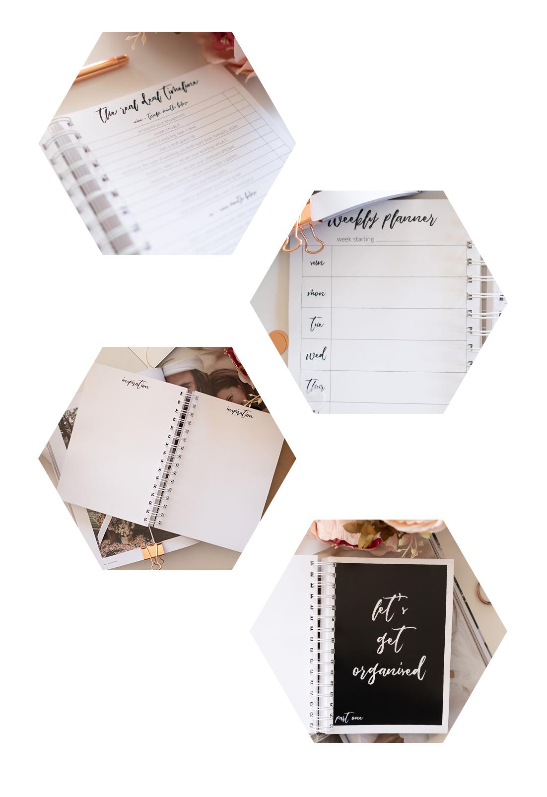 Luxe Wedding Planner Paper Halo